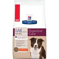 Hill's Prescription Diet i/d Low Fat Digestive Care Natural with Chicken Dry Dog Food, 25-lb bag