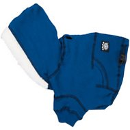 PetRageous Designs Bentley's Fur-lined Dog Hoodie, Royal Blue, X-Small
