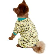 PetRageous Designs Counting Sheep Dog PJs, Yellow, Small