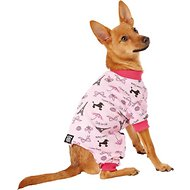 PetRageous Designs I Love Paris Dog PJs, X-Small