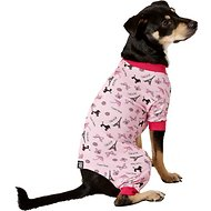 PetRageous Designs I Love Paris Dog PJs, Medium