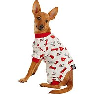 PetRageous Designs Firetruck Dog PJs, X-Small