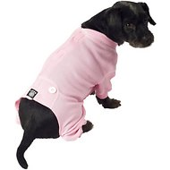 PetRageous Designs Cozy Thermal Dog PJs, Pink, Small