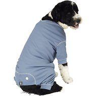 PetRageous Designs Cozy Thermal Dog PJs, Blue, X-Large