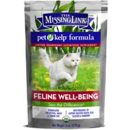 The Missing Link Pet Kelp Feline Well-Being Cat Supplement, 6-oz bag