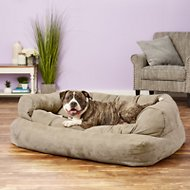 Snoozer Pet Products Luxury Overstuffed Dog & Cat Sofa, Buckskin, X-Large