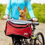 Snoozer Pet Products Sporty Dog Bike Basket, Red