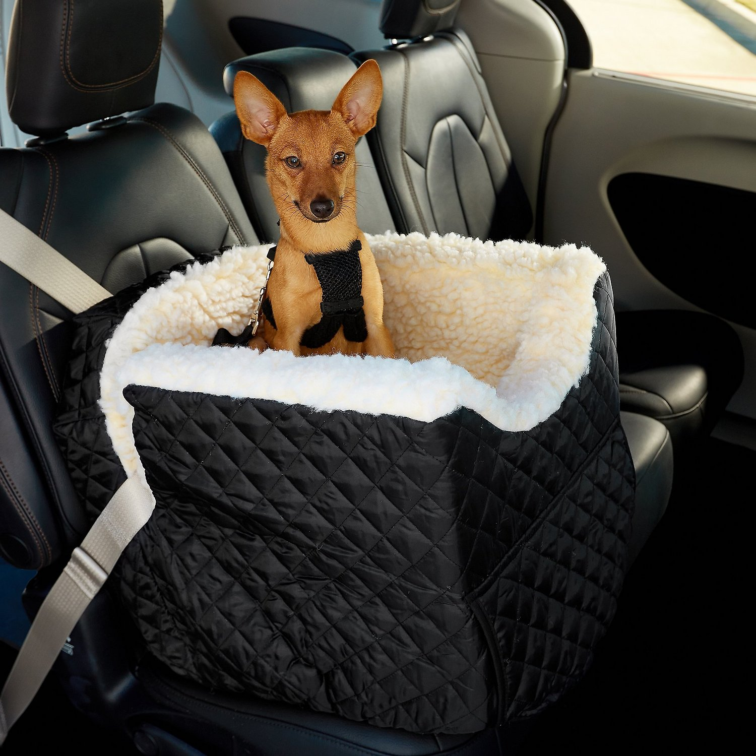 Snoozer Pet Products Lookout Ii Dog Cat Car Seat Black Small