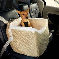 Snoozer Pet Products Lookout II Dog & Cat Car Seat, Khaki, Small