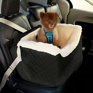 Snoozer Pet Products Lookout II Dog & Cat Car Seat, Black, Medium