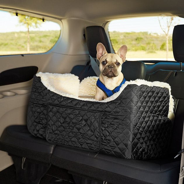snoozer pet products lookout ii dog cat car seat black large. Black Bedroom Furniture Sets. Home Design Ideas