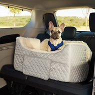 Snoozer Pet Products Lookout II Dog & Cat Car Seat, Grey, Large