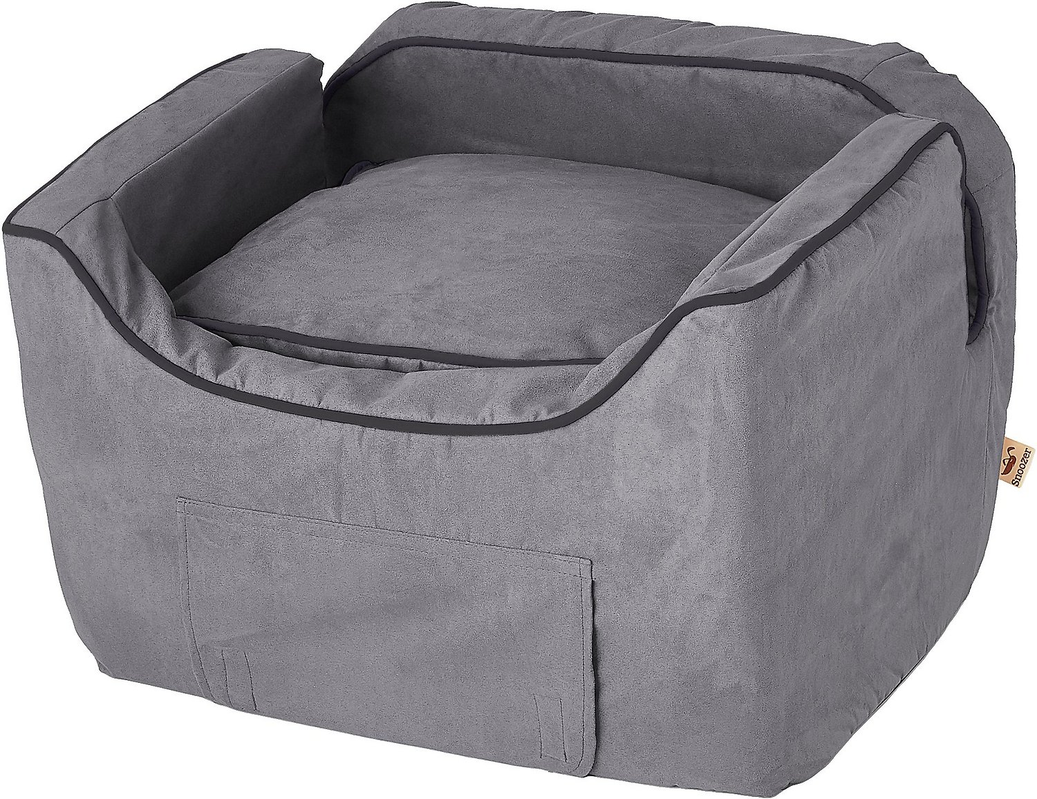 Snoozer Pet Products Luxury Lookout II Micro Suede Dog Cat Car