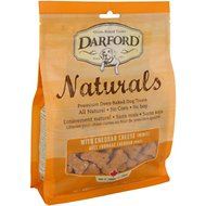 Darford Naturals Cheddar Cheese Recipe Mini Dog Treats, 14.1-oz bag