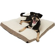 Frisco Pillow Pet Bed Mat, Khaki Green, Medium