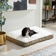 Frisco Pillow Pet Bed Mat, Khaki Green, Large