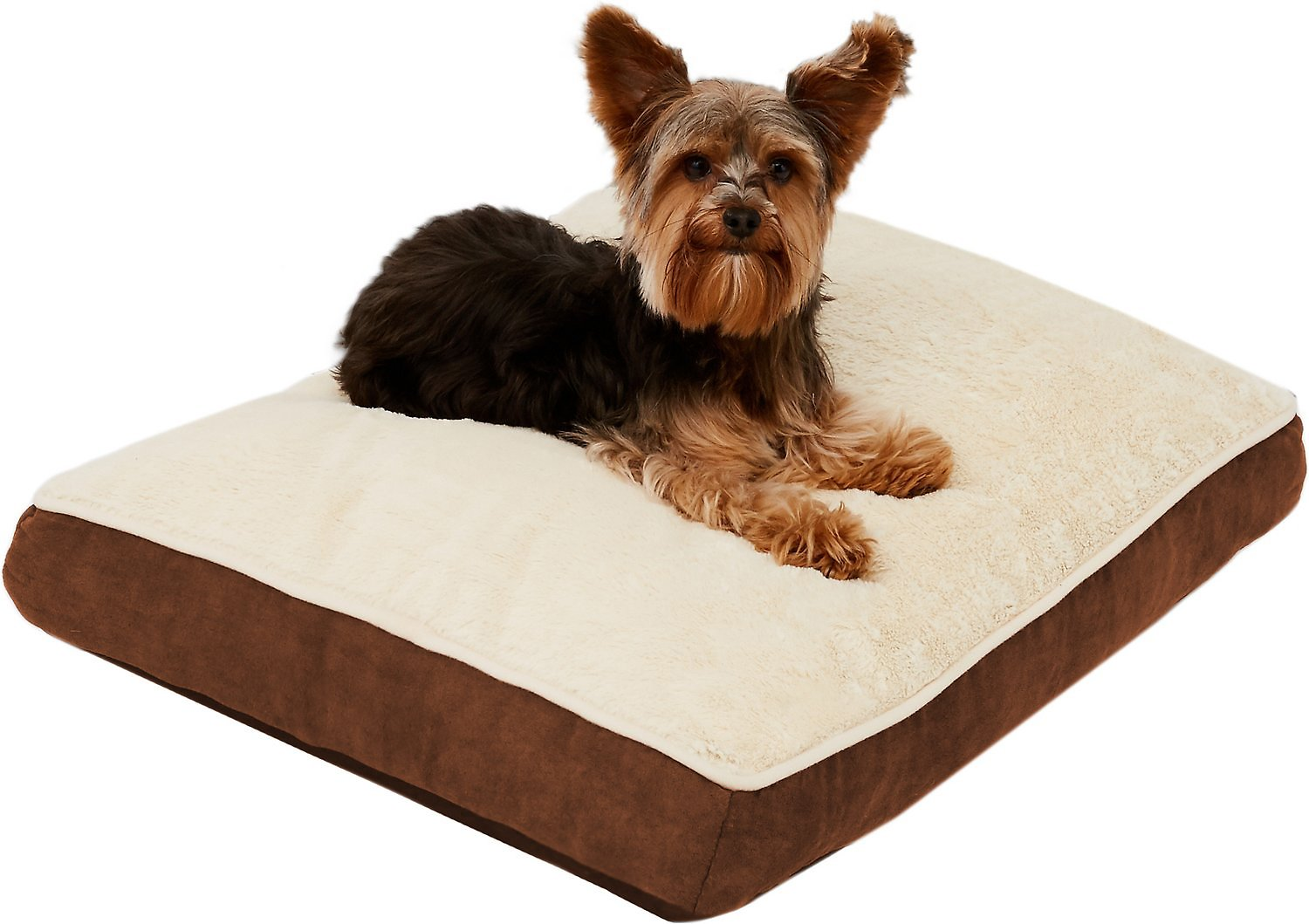 Frisco Pillow Pet Bed Mat Brown Small Chewy Com