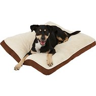 Frisco Pillow Pet Bed Mat, Brown, Medium