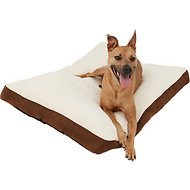Frisco Pillow Pet Bed Mat, Brown, Large