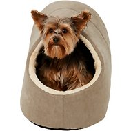 Frisco Dog & Cat Bed Cave, Khaki Green