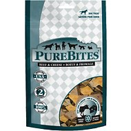 PureBites Beef & Cheese Freeze-Dried Dog Treats, 4.2-oz bag