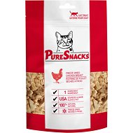 PureSnacks Chicken Breast Freeze-Dried Cat Treats, 1.02-oz bag
