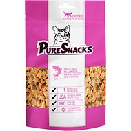 PureSnacks Salmon Freeze-Dried Cat Treats, 0.81-oz bag
