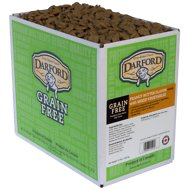 Darford Peanut Butter Flavor with Mixed Vegetables Grain-Free Mini Dog Treats, 15-lb box