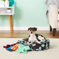 Molly Mutt Your Hand In Mine Round Dog Duvet Cover, Petite