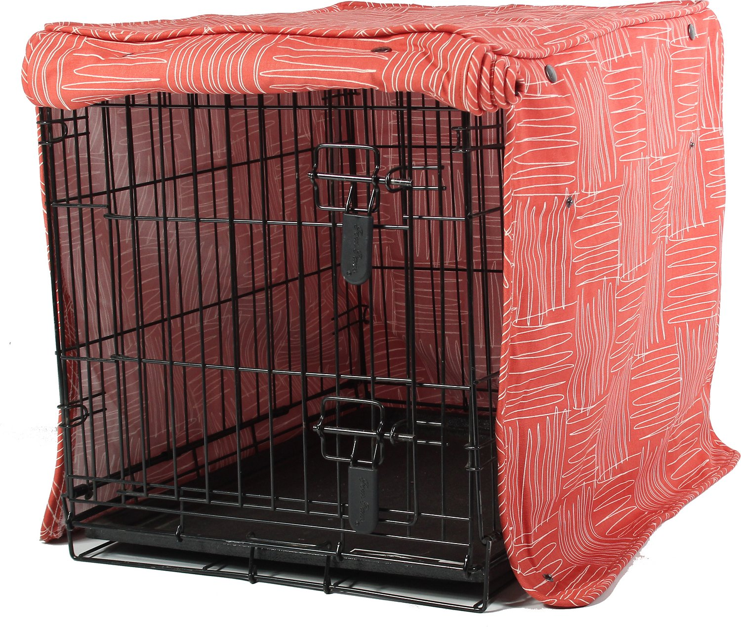 Dog Crate Covers molly mutt jitterbug dog crate cover, medium - chewy