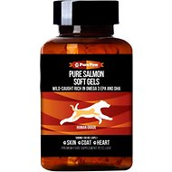 Pure Paw Nutrition Wild Salmon Dog and Cat Soft Gels, 60-count