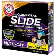 Arm & Hammer Litter Multi Cat Slide Easy Clean-Up Clumping Cat Litter, 19-lb