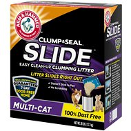 Arm & Hammer Litter Multi Cat Slide Easy Clean-Up Clumping Cat Litter, 28-lb