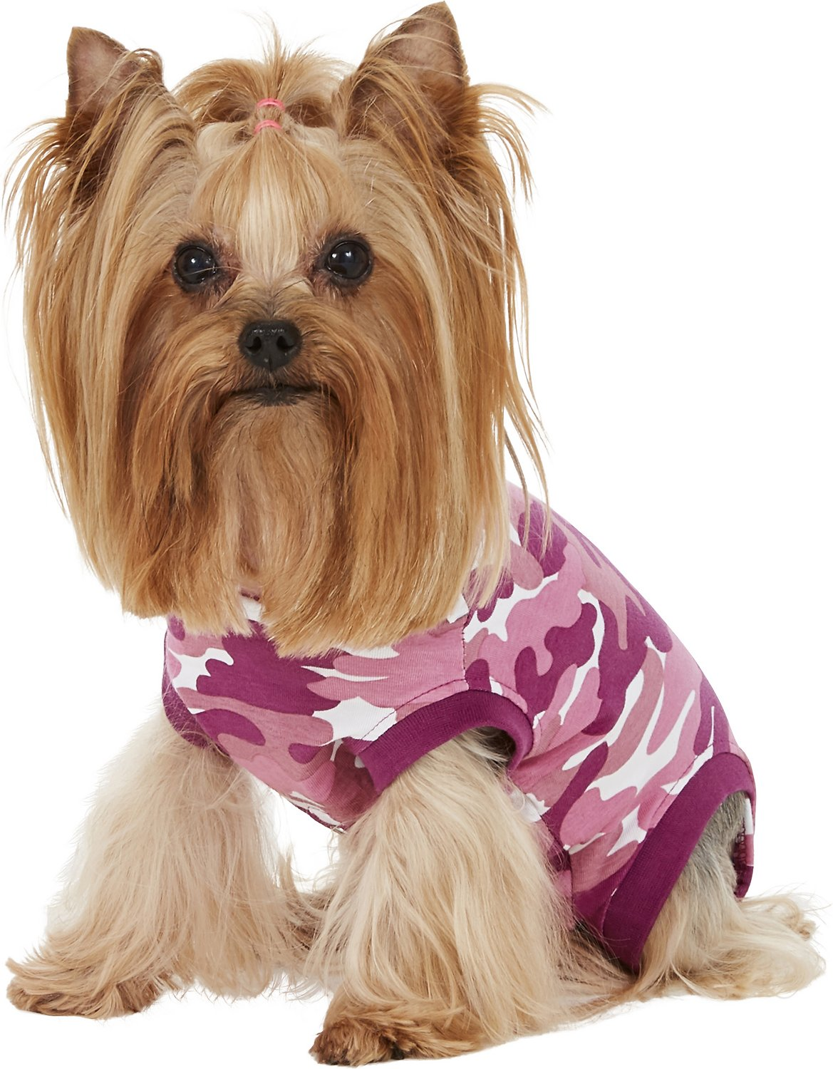Purple Camo Dog Shirt - 4 Sizes Available - Guaranteed to fit - Love it or send it back :o