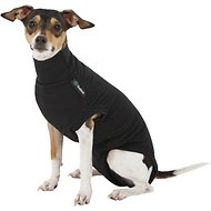 Suitical Recovery Suit for Dogs, Black, X-Small