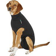 Suitical Recovery Suit for Dogs, Black, Medium