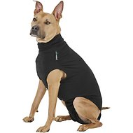 Suitical Recovery Suit for Dogs, Medium +, Black