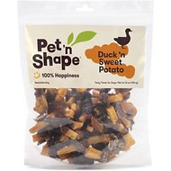 Pet 'n Shape Duck 'n Sweet Potato Dog Treats, 17-oz