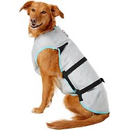 Suitical Dry Cooling Vest for Dogs, Large, Silver