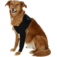 Suitical Recovery Sleeve for Dogs, Black, Large