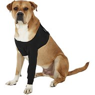 Suitical Recovery Sleeve for Dogs, Black, X-Large