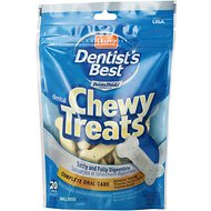 Hartz Dentist's Best Chewy Dog Treats, 20 count