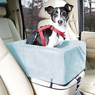 Snoozer Pet Products Luxury Microfiber Console Dog & Cat Car Seat, Small, Aqua