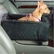 Snoozer Pet Products Luxury Microfiber Console Dog & Cat Car Seat, Small, Anthracite