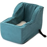 Snoozer Pet Products Luxury Microfiber High Back Console Dog & Cat Car Seat, Marine, Large