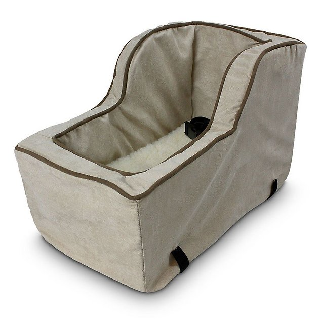 snoozer pet products luxury microfiber high back console dog cat car seat large buckskin. Black Bedroom Furniture Sets. Home Design Ideas