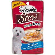Hartz Delectables Stew Chicken Lickable Dog Treat, 2.1-oz, Case of 12
