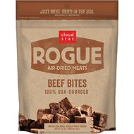 Cloud Star Rogue Air-Dried Beef Bites Dog Treats, 6.5-oz bag