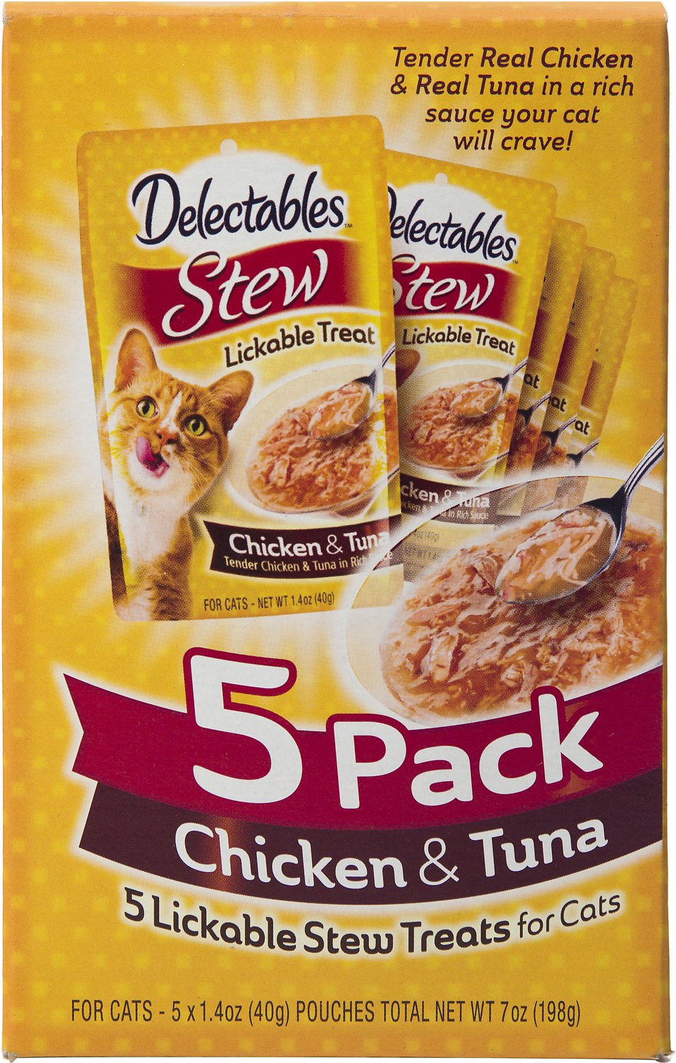 Delectables Chicken And Tuna Cat Food