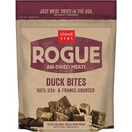 Cloud Star Rogue Air-Dried Duck Bites Dog Treats, 6.5-oz bag